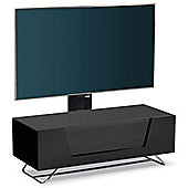 Alphason Chromium Black Cantilever TV Stand
