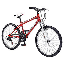 "Saxon Victory 24"" Front Suspension Mountain Bike Boys"