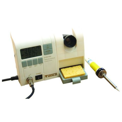 48W 230V LCD Display Soldering Iron Station Stand