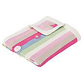 Claire de Lune Peekaboo Blanket, Pink