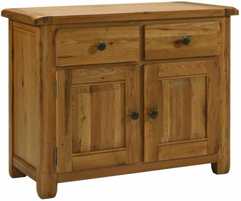 Kelburn Furniture Cherry Creek Oak Small Sideboard