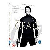 James Bond - The Daniel Craig Collection Blu-ray