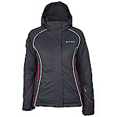 Shasta Extreme Womens Ski Jacket Snowboarding Skiing Snow Coat Recco Reflectors - Dark grey
