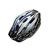 UVEX Boss Compact Silver/Blue Helmet 53-58cm
