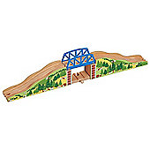 Hilltop Bridge Set For Wooden Railway Train Set 50956 - Brio Bigjigs Compatible
