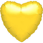 Yellow Heart Balloon - 18' Foils (each)