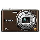 Panasonic Lumix SZ3 Digital Camera Brown 10x Optical Zoom 16MP