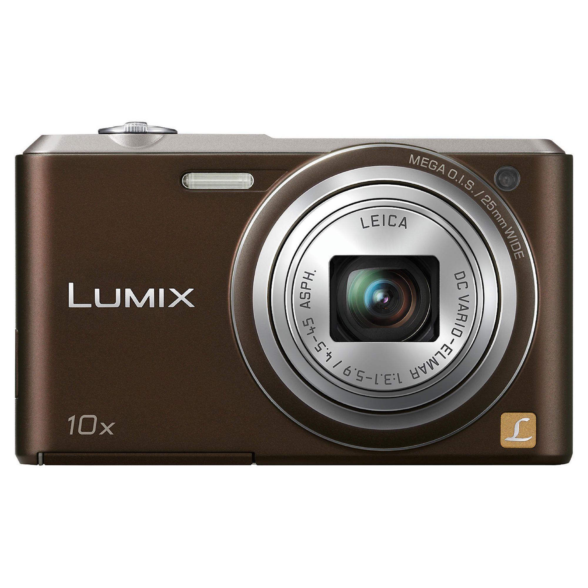 Panasonic Lumix SZ3 brown 10x optical zoom 16mp