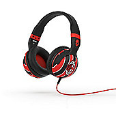 Hesh 2.0 Over-Ear Headphones with Mic AC Milan Black/Red/Red