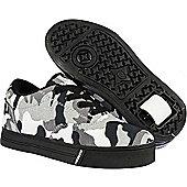 Heelys Launch 2.0 Black/White/Camo Heely Shoe - 12
