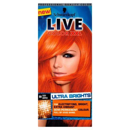 Schwarzkopf LIVE Color XXL Ultra Brights 90 Fiery Copper