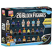 Block Tech Elite Figure Collection 20 Pk