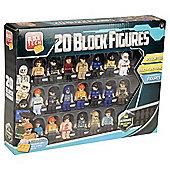 Block Tech Elite Figure Collection 20 Pk
