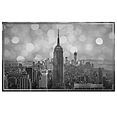 Empire State Black and White City Scene 60 x37cm