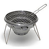 Camerons Outdoor Charcoal Tailgator Grill - Ideal for Camping and Picnics