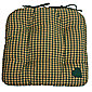 Woven Magic Country York Mini Plaid Green Chair Pad