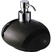 Gedy Stone Soap Dispenser - Moka / Chrome