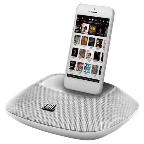 JBL OnBeat Micro Portable Speaker Dock iPhone 5 - White