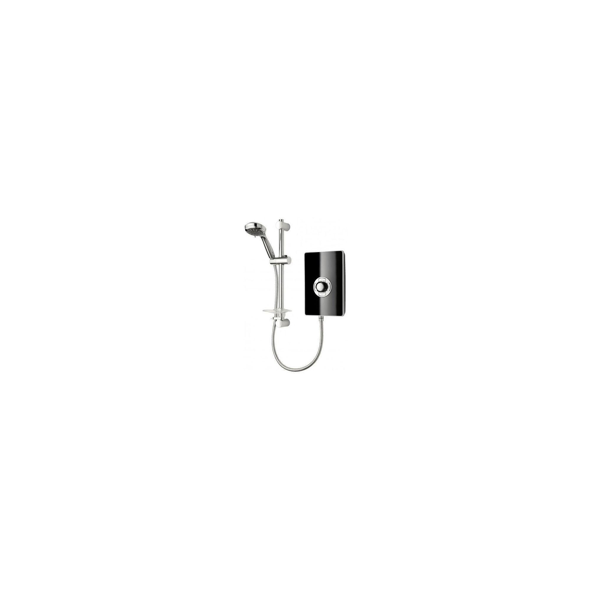 Triton Aspirante Electric Shower Black Gloss 9.5 kW at Tesco Direct