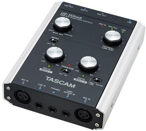 Tascam US-122 MKII Audio Interface