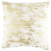 Gold foil cushion cream