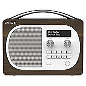PURE EVOKE D4 DAB/FM RADIO (WALNUT)