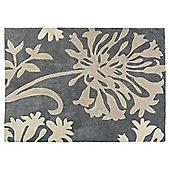 Dandelion Acrylic Rug 80x150 Grey