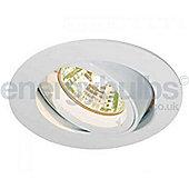 Aurora GU10 Aluminium Adjustable Lock Ring Halogen light - Polished Chrome