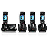 BT6500 Digital Cordless Telephone With Nuisance Call Blocking - Set of 4