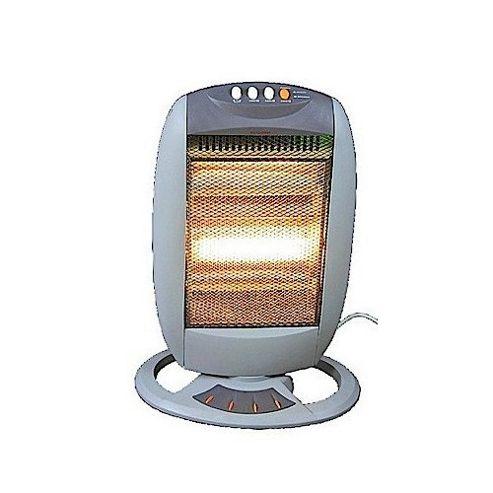 PE135 Pifco 1200w Halogen Heater Grey