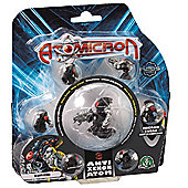Atomicron 7 Figure Set - Anti Xenon Atom General Antixen