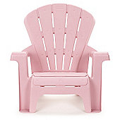 Little Tikes 46cm High Kid's Garden Chair Pink
