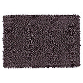 Tesco Chenille Bath Mat Heather