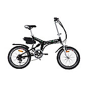 Cyclamatic Pro Dual Suspension Foldaway E-Bike Electric Bicycle
