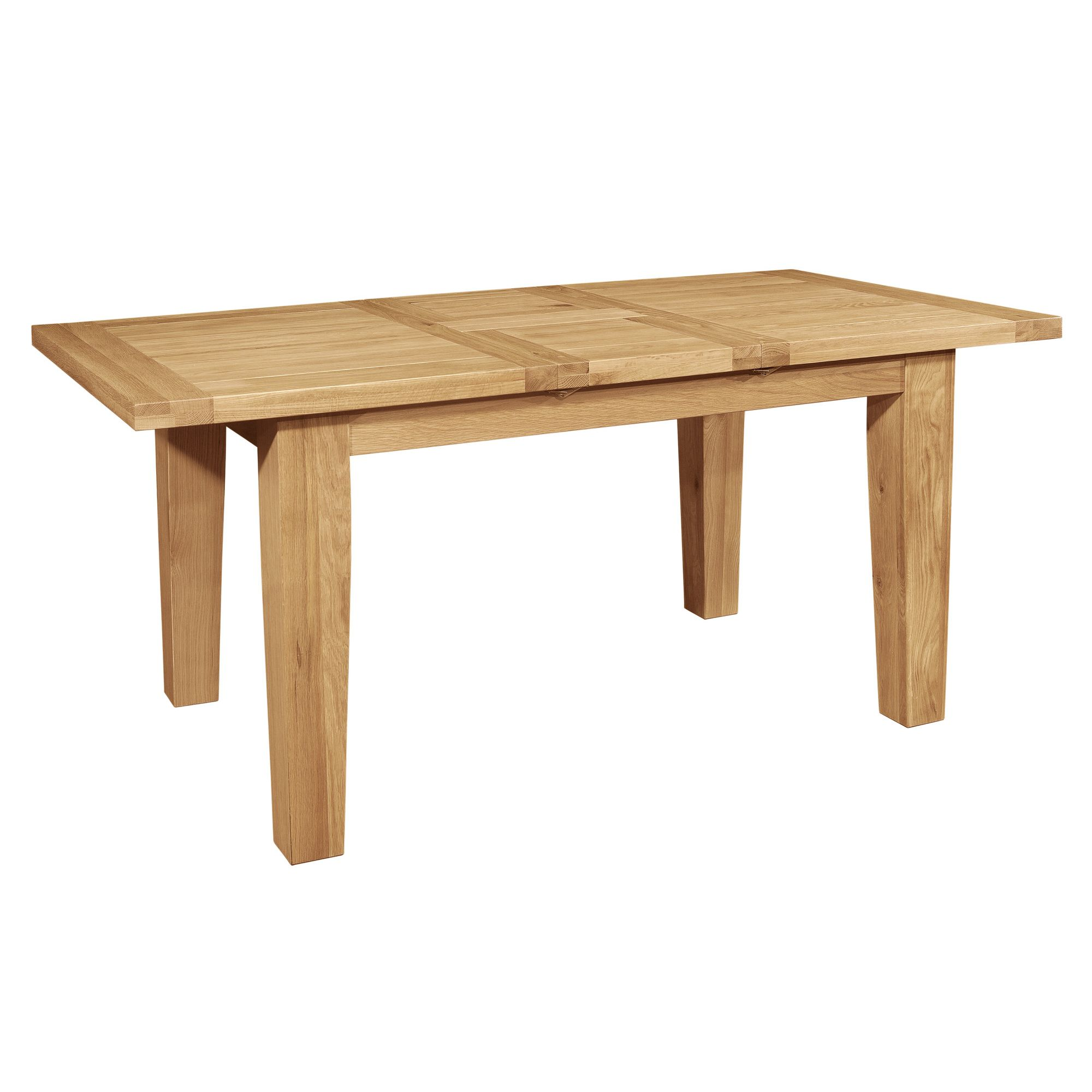Hawkshead Calgary 220cm Extension Solid Oak Dining Table