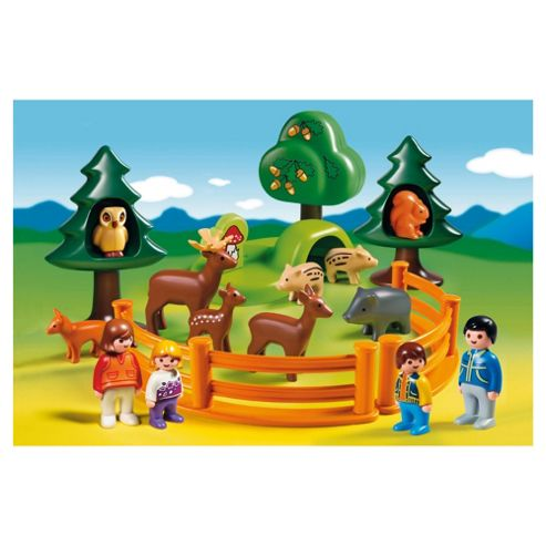 Playmobil Forest Animal Park