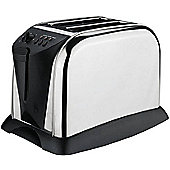 Sabichi 2 Slice Polished Toaster in Stainless Steel