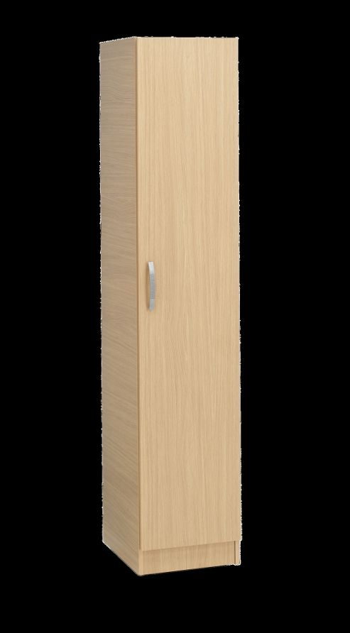 Ideal Furniture Budapest Half Robe Wardrobe - Oak