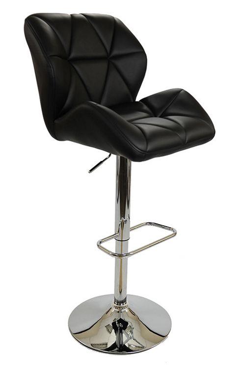 buy eris black bar stool from our bar tables stools. Black Bedroom Furniture Sets. Home Design Ideas