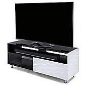 Off-The-Wall Contour 1300 WD White TV Stand