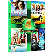 Aquamarine/Just My Luck/Flicka 1 & 2
