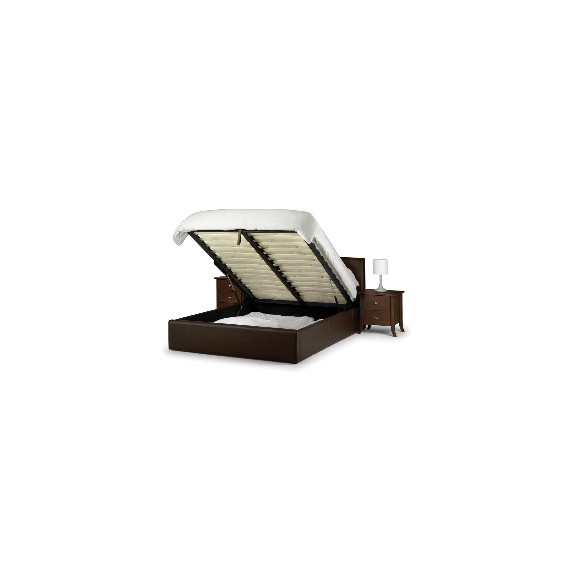 Julian Bowen Vienna Ottoman Storage Bed Frame - Single at Tesco Direct