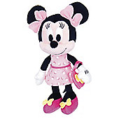 "10"" I Love Minnie in Pink Sparkle Dress"