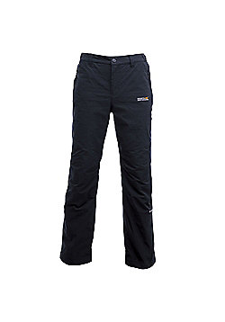 Regatta Mens Dayhike Waterproof Walking Trousers - Black