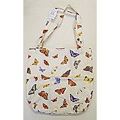 Roy Kirkham PVC Coated Cotton Shopping Bag, Butterfly Garden