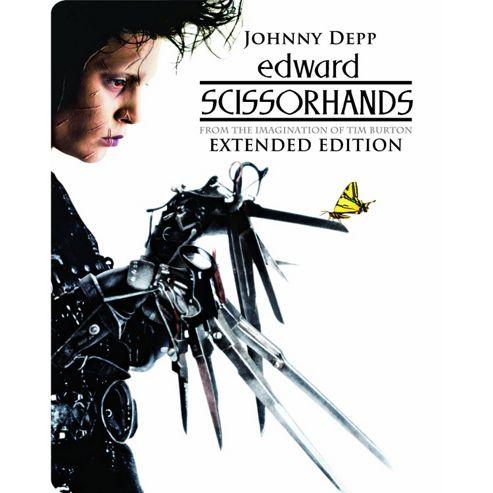 Edwards Scissorhands Limited Edition Steelbook Blu-Ray + DVD