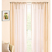 Casablanca Rod Pocket Voile Panel - Cream