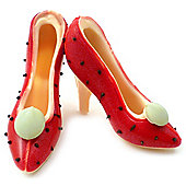 Small Chocolate Shoes - Strawberries and Cream