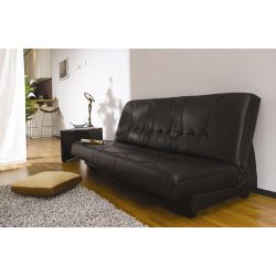 Home Zone Furniture Calma Sofa Bed - Black