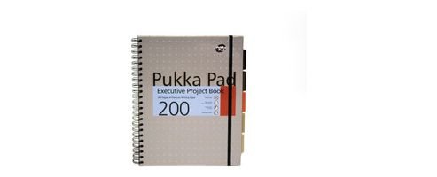 Pukka Pad A4 Executive Metalllic Project Book Assorted PP16970